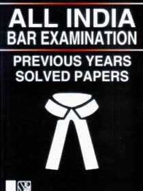 Singhal's All India BAR Examination- Previous Years Solved Papers (2020)