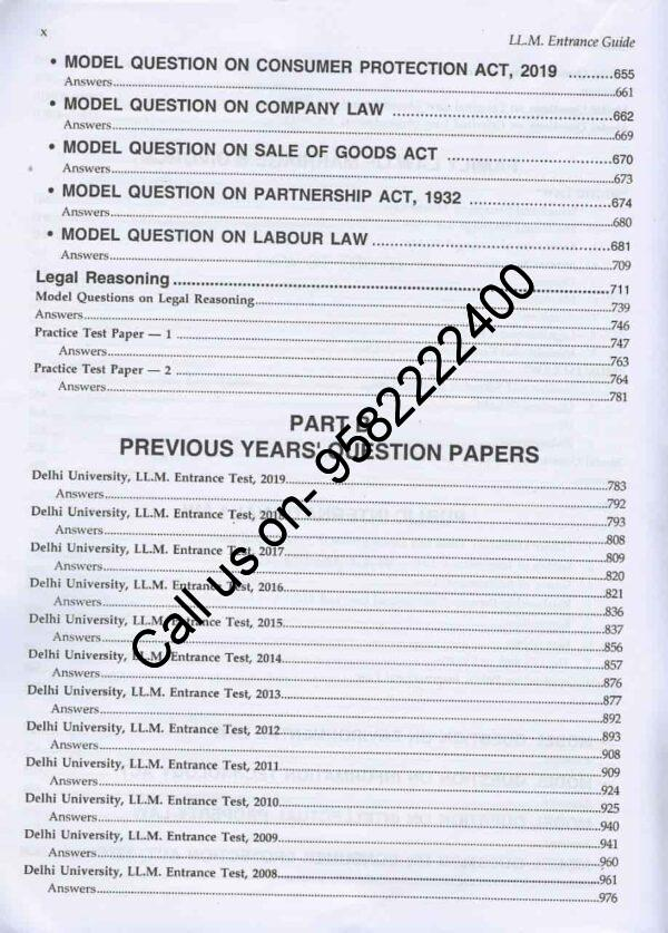Singhals-SS-Handbook-for-Entrance-Exam-17th-Edition-Content-Page 3