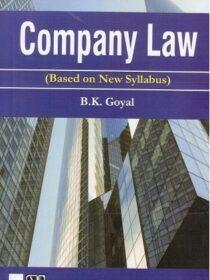 Singhal's Company Law by B K Goyal