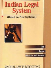 Singhal's Indian Legal System by Avinash Kumar