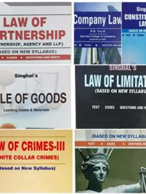 Singhal's Set of Dukkis for 3rd Semester DU [with Law of Crimes/ White Collar Crimes]