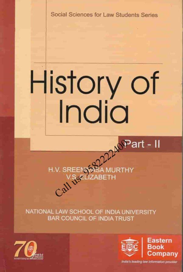 EBC's History of India Part 2 by HV Sreenivasa Murthy and VS Elizabeth