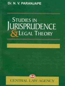 Studies in Jurisprudence and Legal Theory by Dr. NV Paranjape