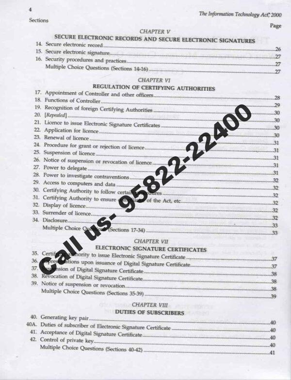 Singhal's CBI and Delhi Assistant Public Prosecutor (APP) Prelims Exam Content Page 3