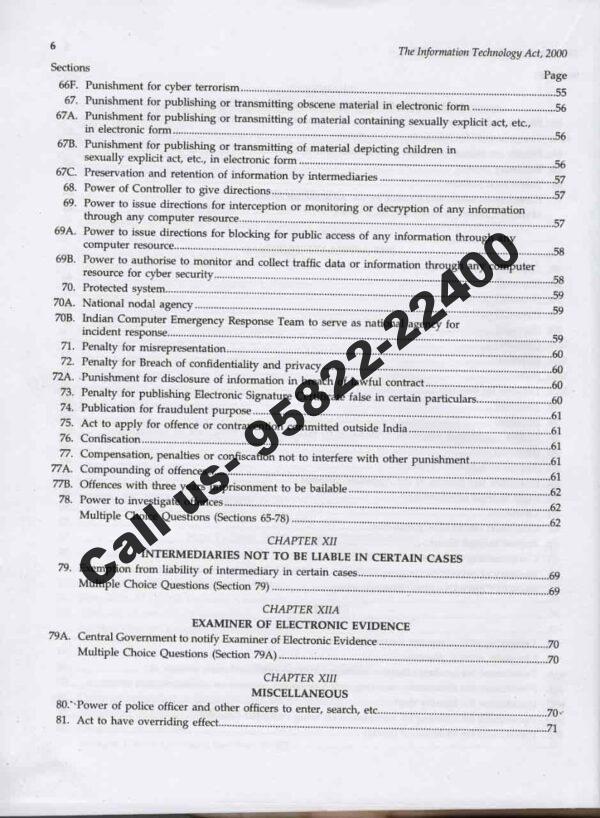 Singhal's CBI and Delhi Assistant Public Prosecutor (APP) Prelims Exam Content Page 5