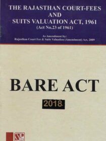 Singhal's Rajasthan Court fees and Suits Valuation Act,1961