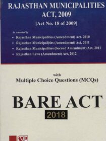 Singhal's Rajasthan Municipalities Act, 2009 with MCQs