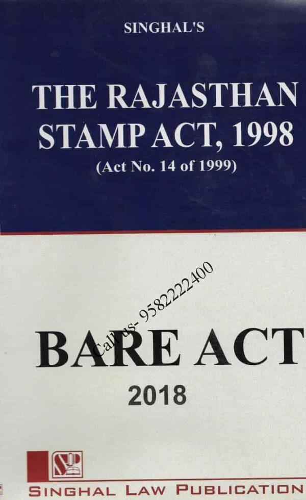 Singhal's Rajasthan Stamp Act,1998
