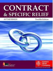 Contract and Specific Relief by Avatar Singh (Eastern Book Company)
