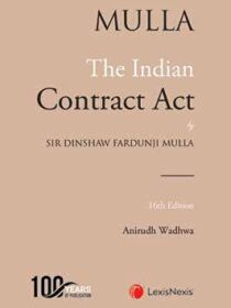 Mulla The Indian Contract Act [LexisNexis] 16th Edition