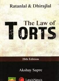 The Law of Torts by RatanLal & DhirajLal [LexisNexis] 28th Edition