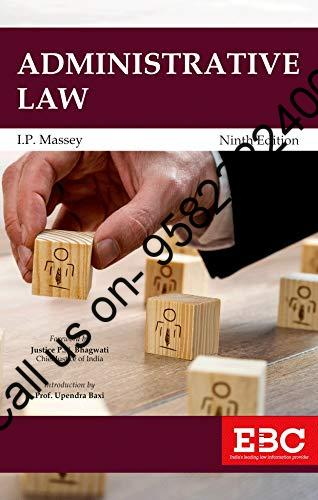Administrative Law by IP Massey EBC Cover page